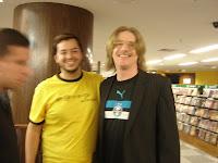 Eu com Humberto Gessinger, lider dos Engenheiros