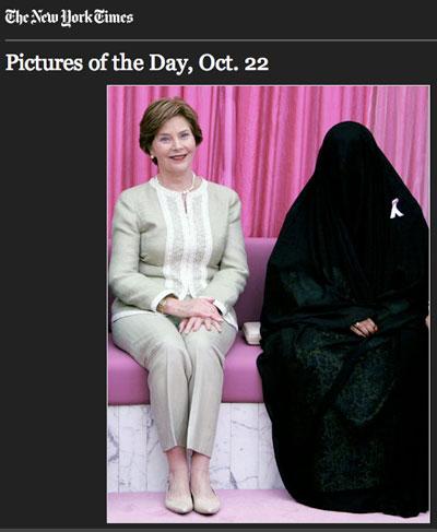 Caption This Laura Bush Photo Op