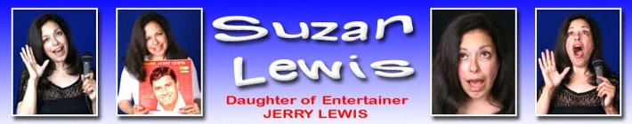 Suzan Lewis - Daughter of Entertainer Jerry Lewis
