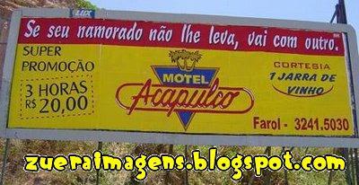 Anúcio de Motel