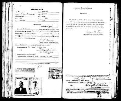 Hoboken passport photo