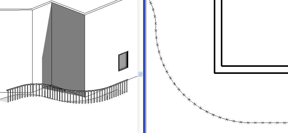 Drawing Lines Revit : Revit oped fence linestyle