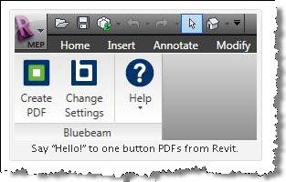 Revit OpEd: Bluebeam PDF Revu has Revit Plug-in
