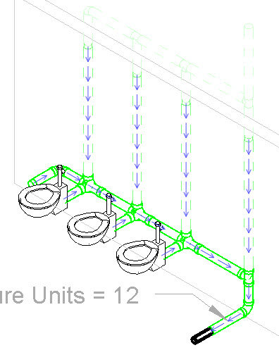 Revit OpEd: Revit MEP - Sanitary Venting and Fixture Units