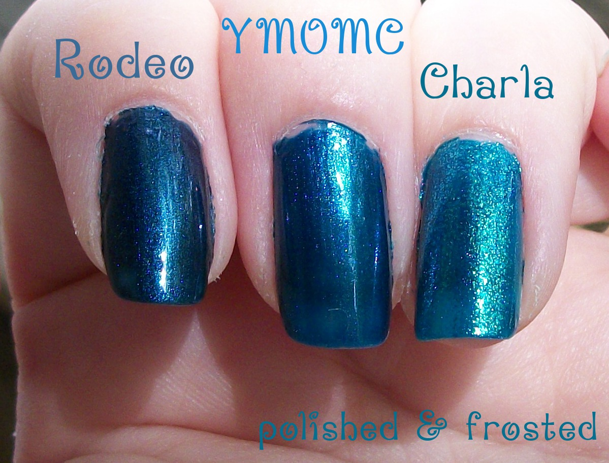 Polished Amp Frosted Opi Yodel Me On My Cell Comparisons