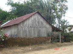 Más casas antiguas de madera...