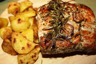 Aroma di casa arrosto di maiale con patate for Arrosto maiale