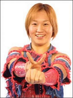 Momoe Nakanishi-woman wrestling-womens wrestling
