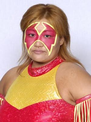 Kyoko Inoue - Japanese Female Wrestling