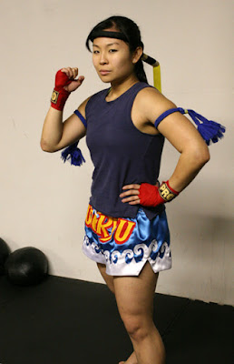 Geri Ooi, Kickboxing, female mixed martial arts, top mma fighters, female mma fight