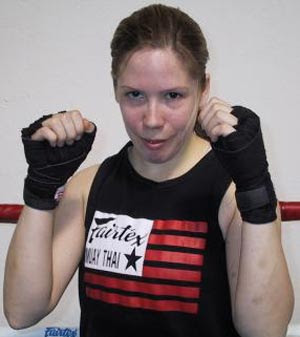 MMA Fighter - Nancy Galvin