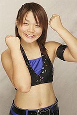 Saki Maemura - Japanese Women Wrestling