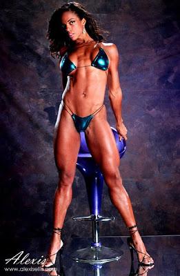 Alexis Ellis - fitness model - women fitness
