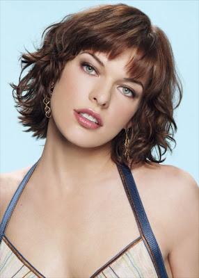 Milla Jovovich Ukrainian-Serbian model