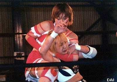 japanese female wrestling, wrestling