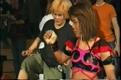 The Bloody - Sumie Sakai - woman wrestling - japanese female