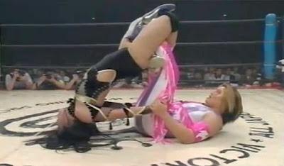 Manami Toyota - Kyoko Inoue - women wrestling