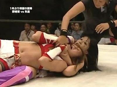 Nagisa Nozaki - Shuri - female wrestling