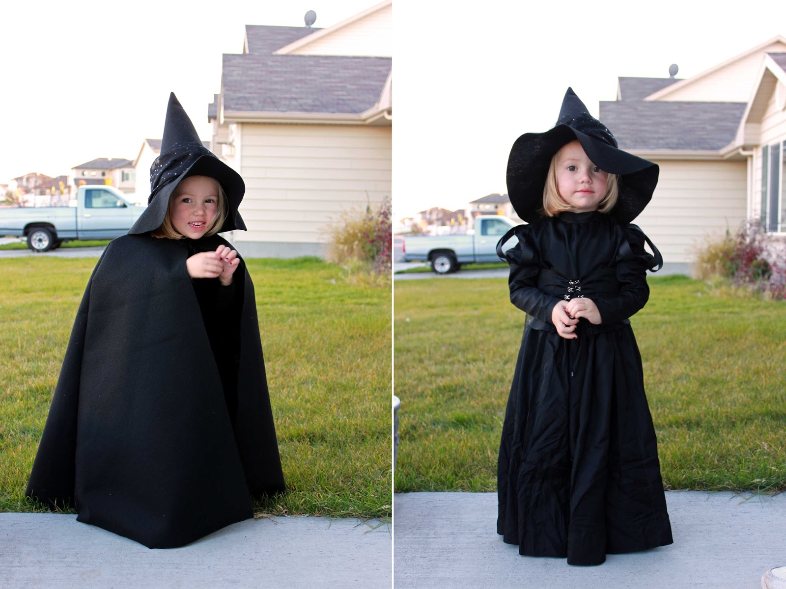 Kids Witch Costume Diy Halloween Pictures Www Picturesboss Com