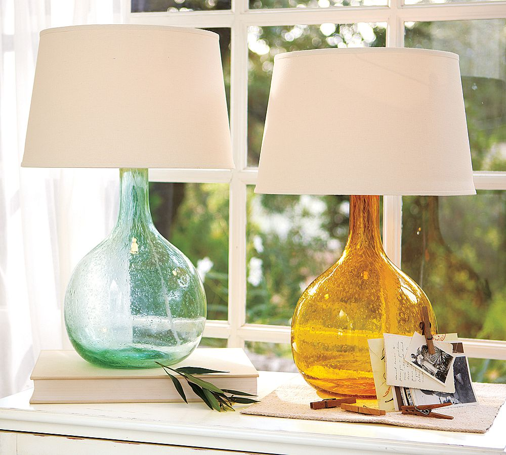Pottery Barn Yellow Lamp: Hello! Upholstery + Blog: Colorful Corner