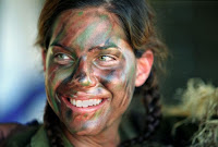 """Women in uniform: Israel army"""