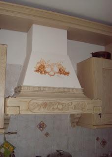 Decorarte murales su cappa for Murales per cucina