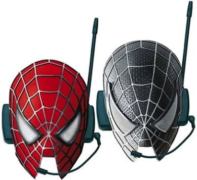 Spiderman 3 intercom masks
