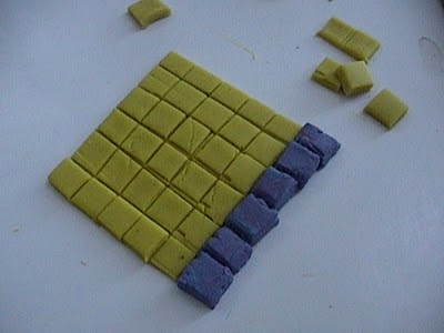 playdoh math, fractions, square numbers