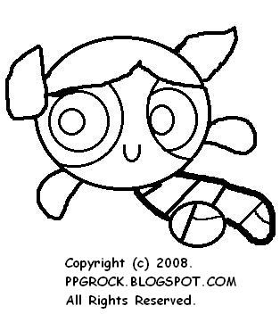 Bubbles: Take the Print Out and Colour Bubbles and have PPG Fun!
