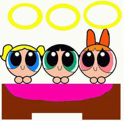 PPG Picture: Blossom, Bubbles, and Buttercup