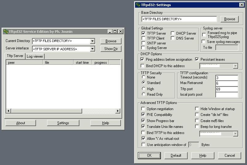 Code Singh: PXE Boot Thinstation using Windows 2003