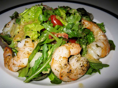 SHRIMP KABOB SALAD