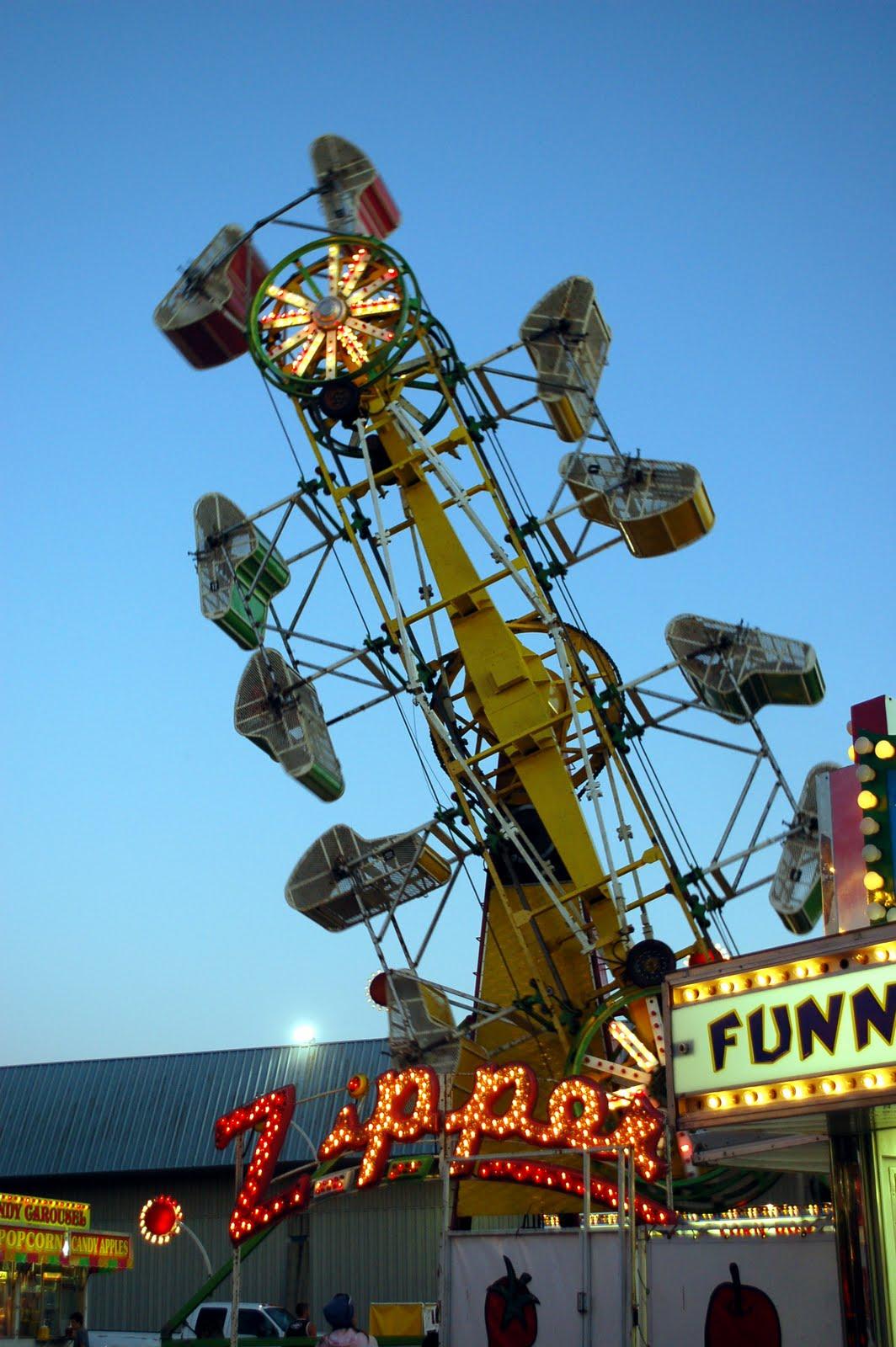 The Fair Carnival Rides