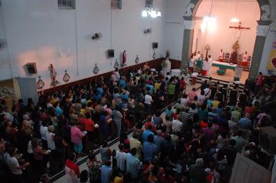 Início da Novena de São João Batista, Cariacica Sede