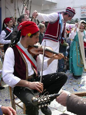 Kapetanios Festival, Amorgos. Photograph by Janie Robinson, Travel Writer