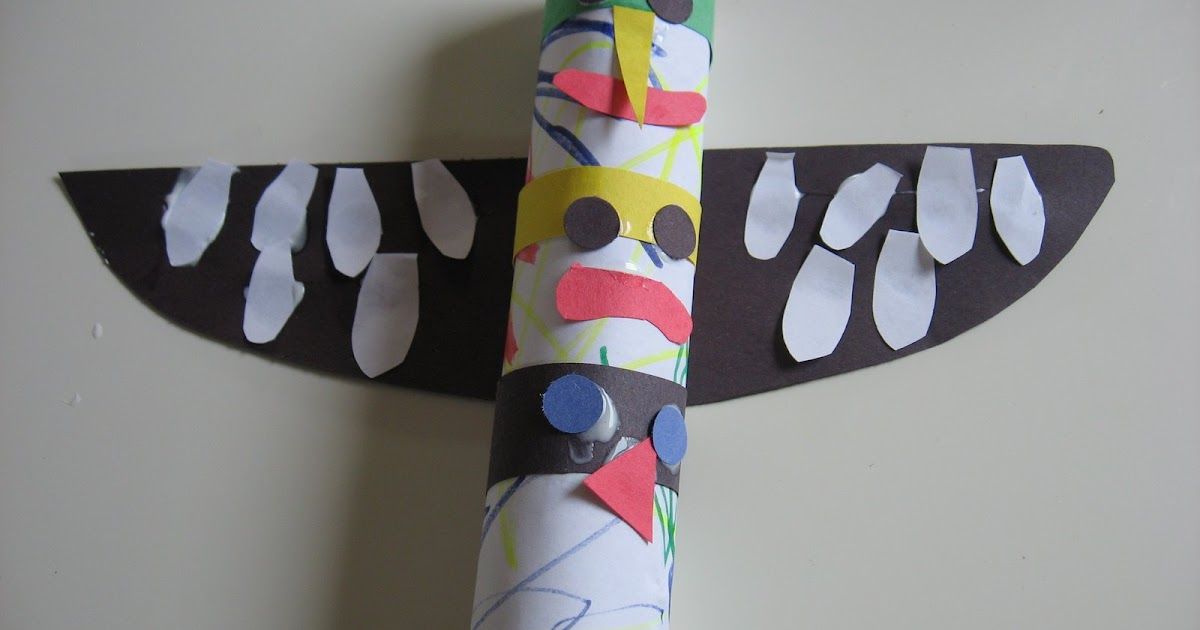 Whether or not you've got a turtle. Preschool Crafts For Kids Native American Totem Pole Paper Craft
