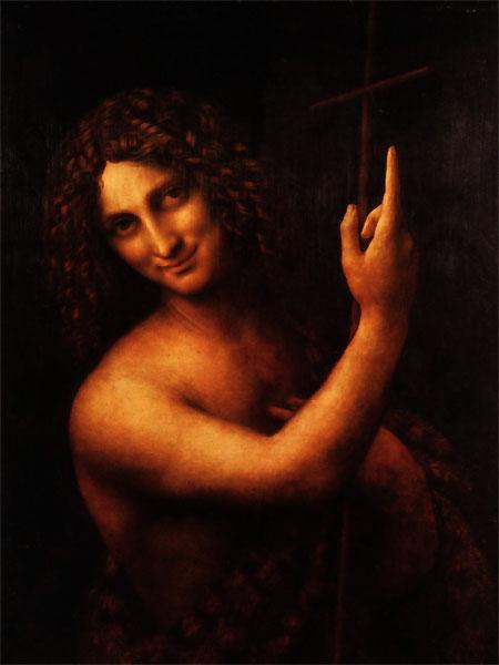 """""""El Profeta"""", de Carlos Morales. De su Libro """"S"""". Ilustración Leonardo da Vinci"""