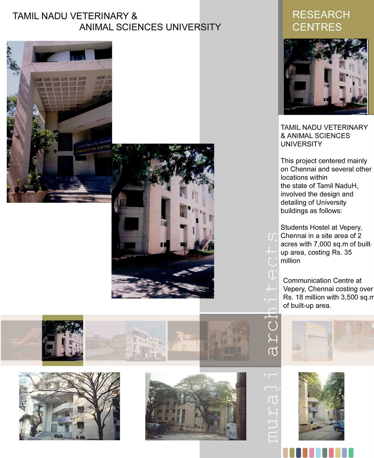 centre for architectural research design chennai. Posted by Murali Murugan m arch mcgill canada  Architects November 2007