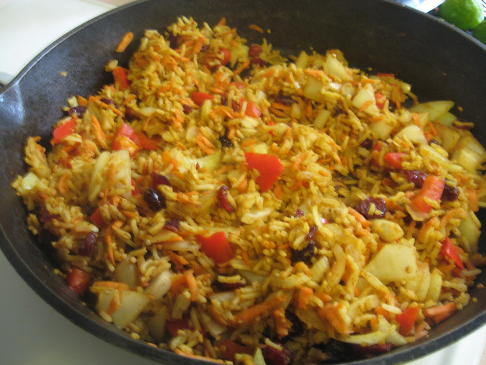 Nannykim's Recipes: Kazakhstan Type Spicy Rice Or Uzbek Palov