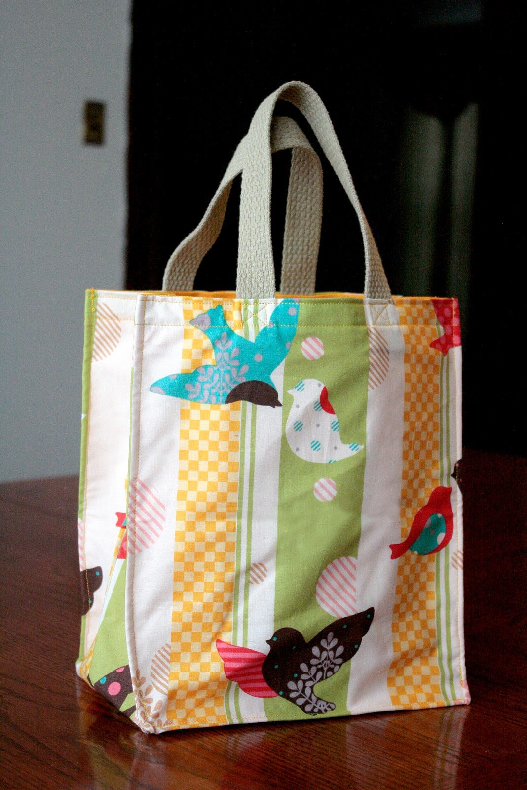 Tutorial Totes Big And Small Craft Buds