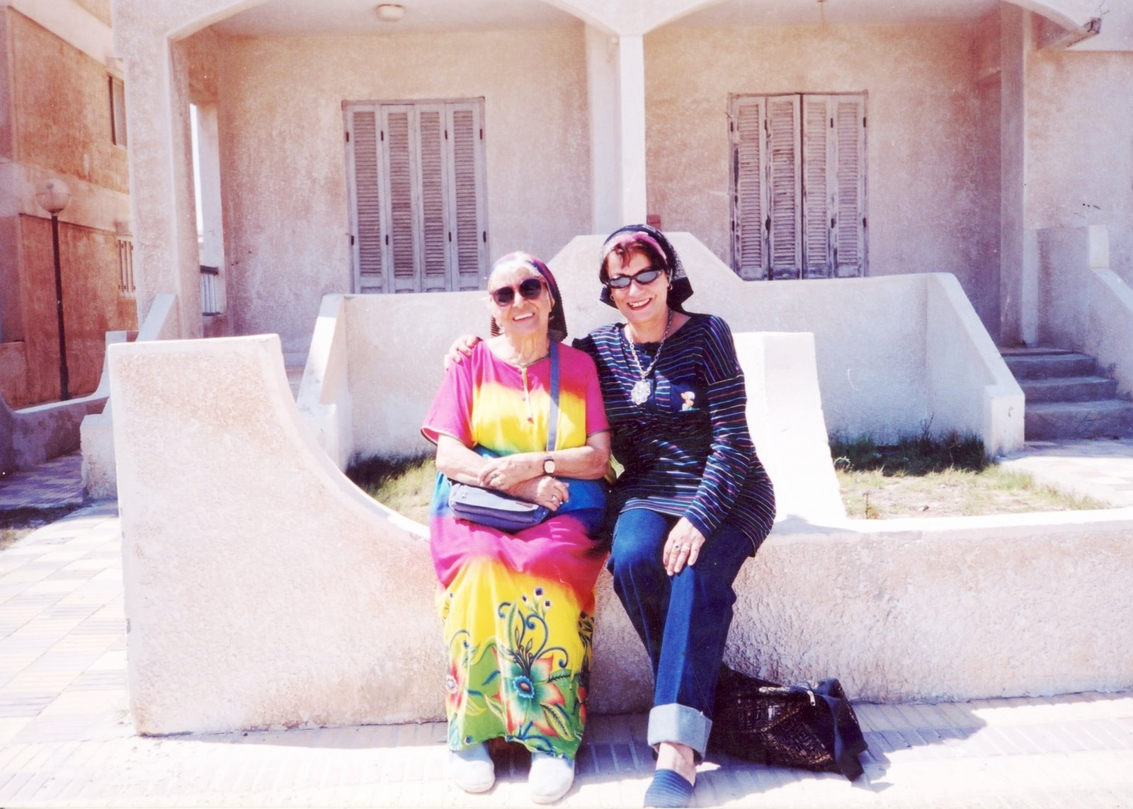 Mama and I in Marsa Matrouh