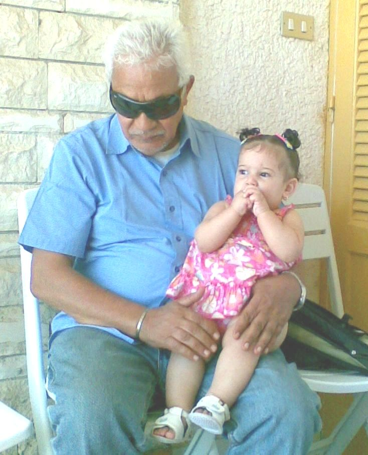 Farouk and Jumi, July 2008