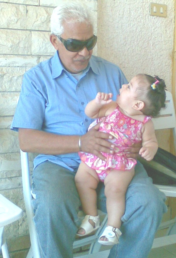 Jamila & Grandpa!