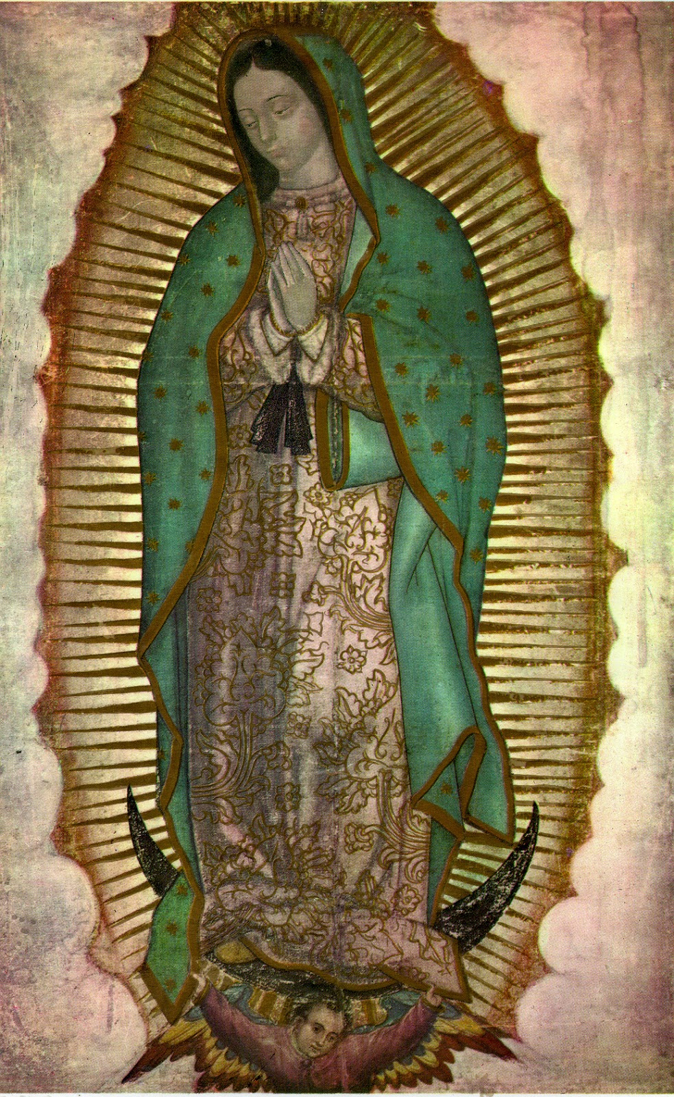 It's just an image of Exceptional Virgen De Guadalupe Drawing