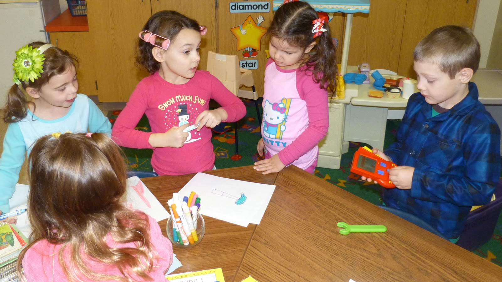 Saint Columbkille Parish Pajama Day In Kindergarten