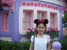 Catie at Minnie Mouse House
