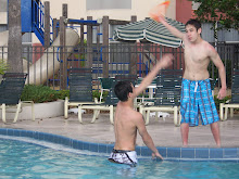 Pool Frisbee