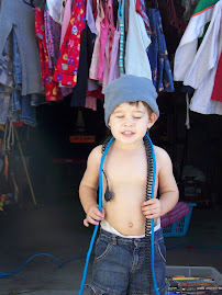 Tate Picks his own clothes!
