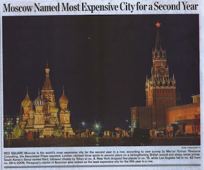 Is Moscow REALLY that expensive?