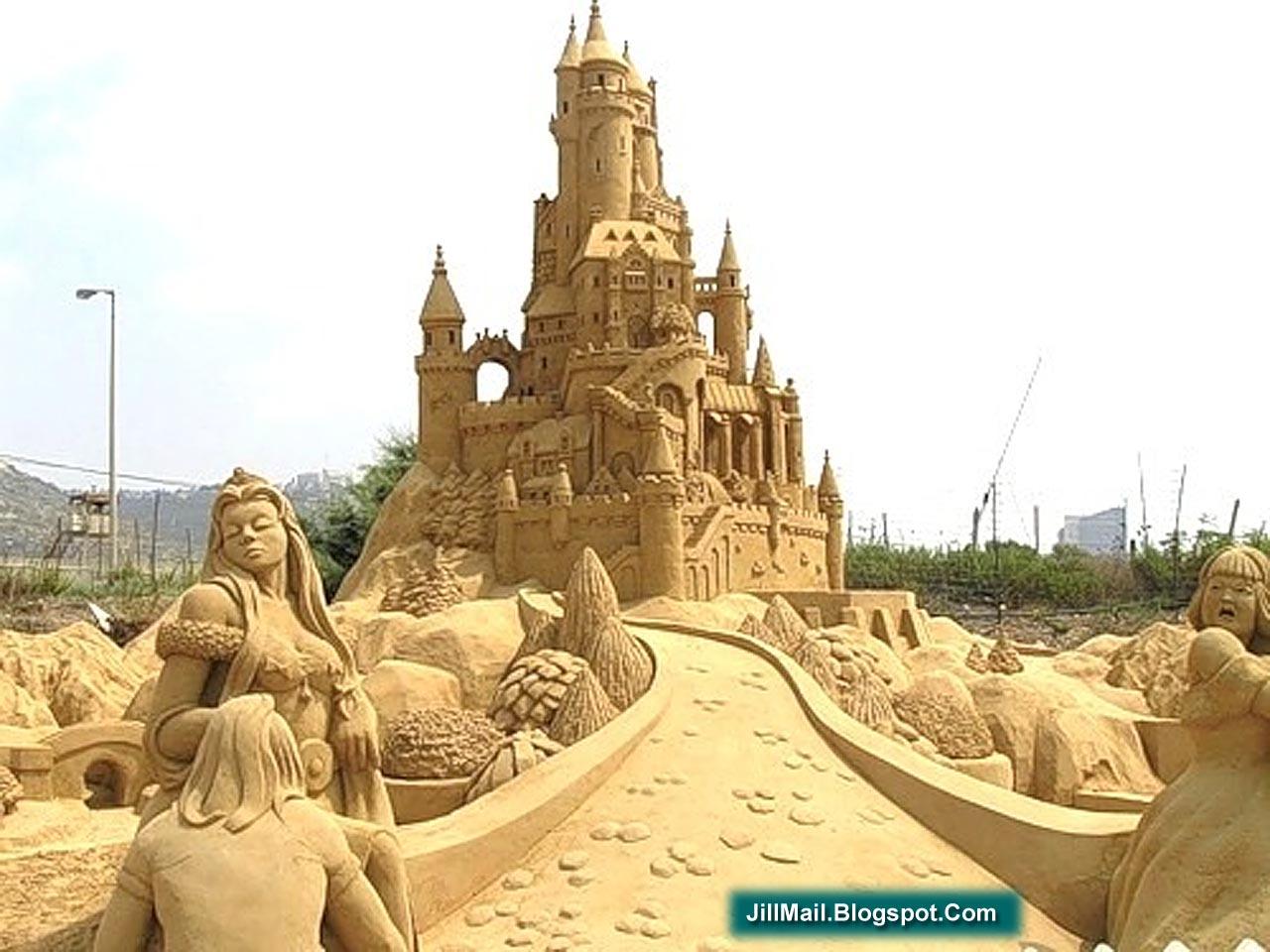 JILL MAIL . BLOGSPOT . COM: Sand Art (Amazing Photos)